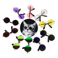 Stylish Aviator Pet Sunglasses of Various Colors for Dogs and Cats