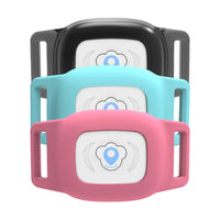 Smart Pet GPS Tracker in Black, Blue, and Pink Color