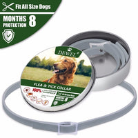 Pet Dog Flea Tick Protective Collar Fleas Ticks Larvae Mosquito Outdoor Protection