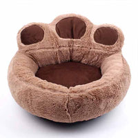 Cute Creative Pet Dog Cat Paw Bed Bear Paw Design Pets Dogs Cats Basket
