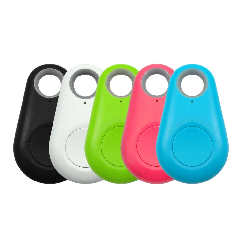 Smart GPS Pet Trackers with Bluetooth in Black, White, Green, Pink and Blue color