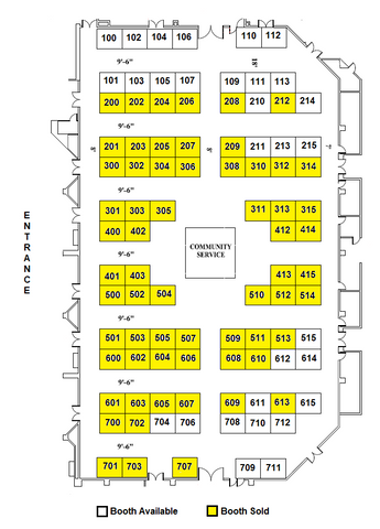 2020 NAC Expo Booth Reservation
