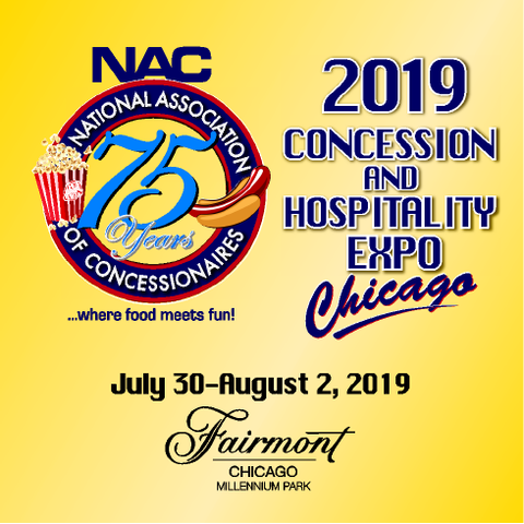 The 2019 NAC Concession & Hospitality Expo