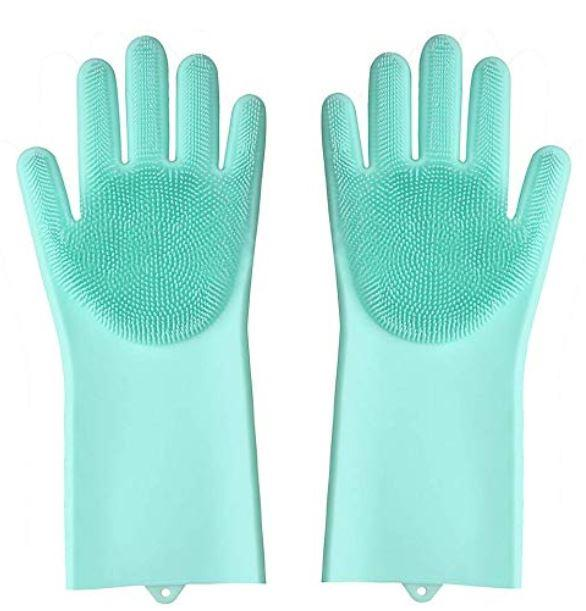 Silicone Dish Washing Gloves (Multi-purpose)