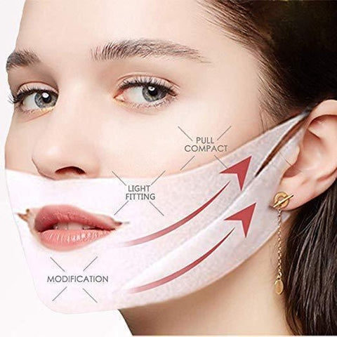V Shaped Slimming Mask 10 Pcs
