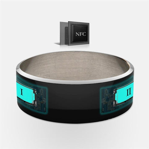 Fashion NFC Smart Ring Band Cell Phone