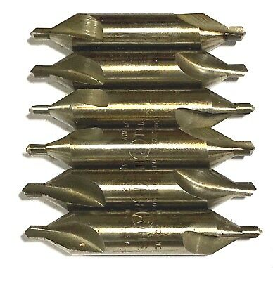M-1 Drill & Countersink High Speed Steel 6 Pack USA Made