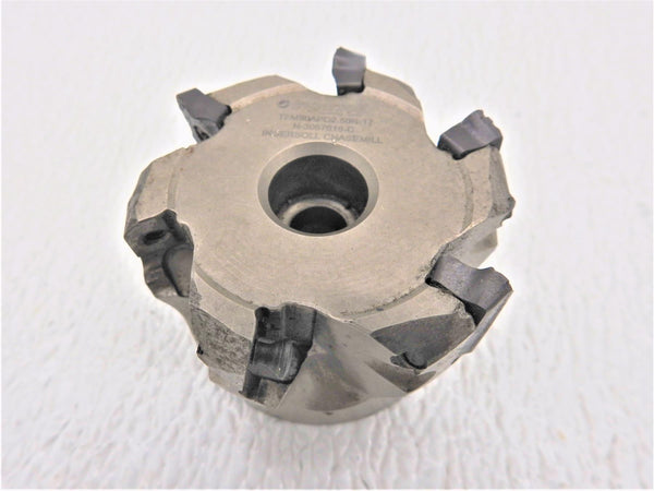 "Ingersoll  2 1/2""Chase Mill TFM90APD2.50R-17 with (N-3057618-C) Indexable Inserts"