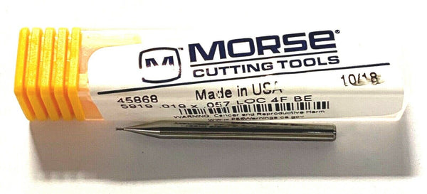 3 Flutes Bright Finish H3 Pitch Dia Morse Cutting Tools 33046 11 HSS 1-13//16 in Thread Length Spiral Point Limit Spiral Point Tap 5//8