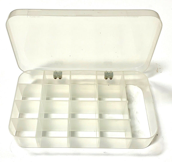 Lite-Tuff Plastic Compartmented Box Organizer 17 Inserts No.46 Series Box