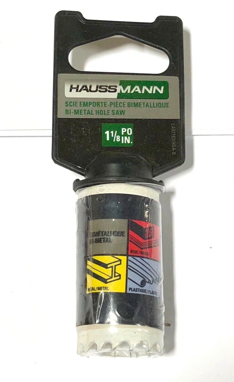 "Haussmann 1-1/8"" Bi-Metal Hole Saw"