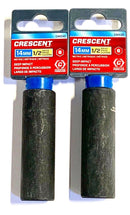 "Crescent 1/2"" Drive 14mm Deep Impact Socket 6 Point CIMS30 2 Pack"