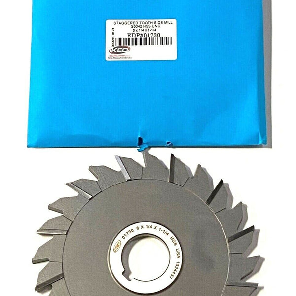 Standard Cut 36 Teeth 1//16 Width Straight Side Tooth,MT Style KEO Milling 80545 Slitting Saw 1-1//4 Arbor Hole TiAlN Coating HSS 4 Cutting Diameter