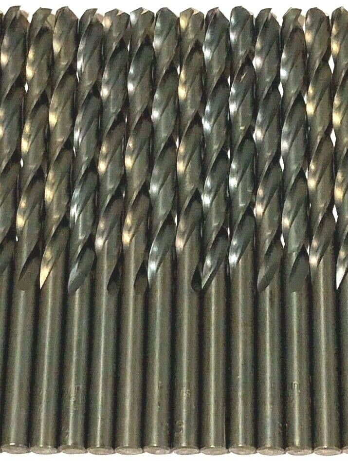 No.3 Jobber Drill Bit 118 Degree Split Point High Speed Steel USA 24 Pack