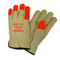 West Chester Driver Gloves Select Grain Cowhide Keystone Thumb Hi-Vis Size Small