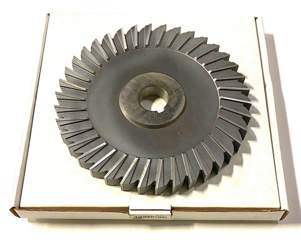 "KEO 10"" x 7/8"" x 1-1/2"" HSS Side Milling Cutter Straight Tooth USA Made"
