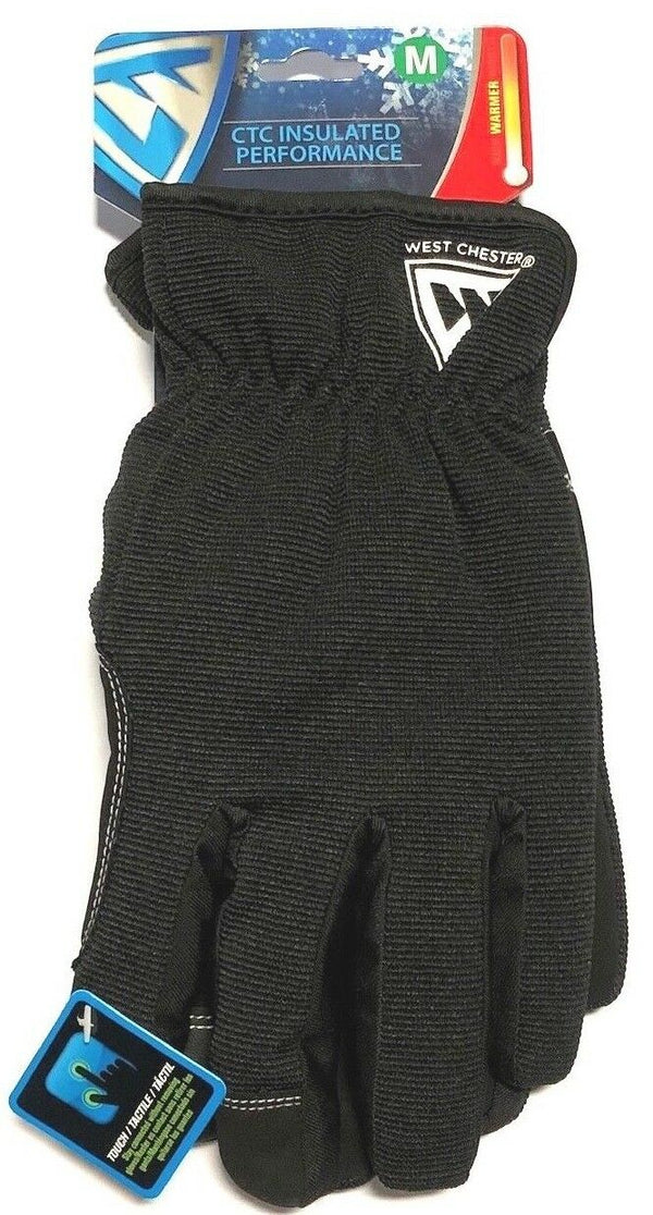 West Chester Winter Gloves 60 Gram Posi Therm CTC Insulated Touch Screen Medium