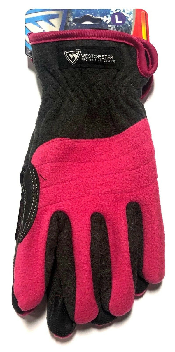 West Chester Women's Winter Outdoor Sports Fleece Gloves Touch Screen Technology