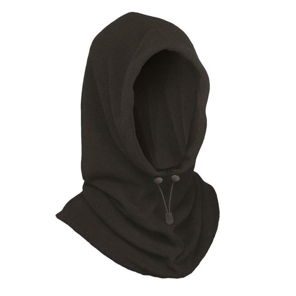 West Chester 6 in 1 Fleece Hoodie Face Mask Balaclava Neck Warmer Hood Beanie