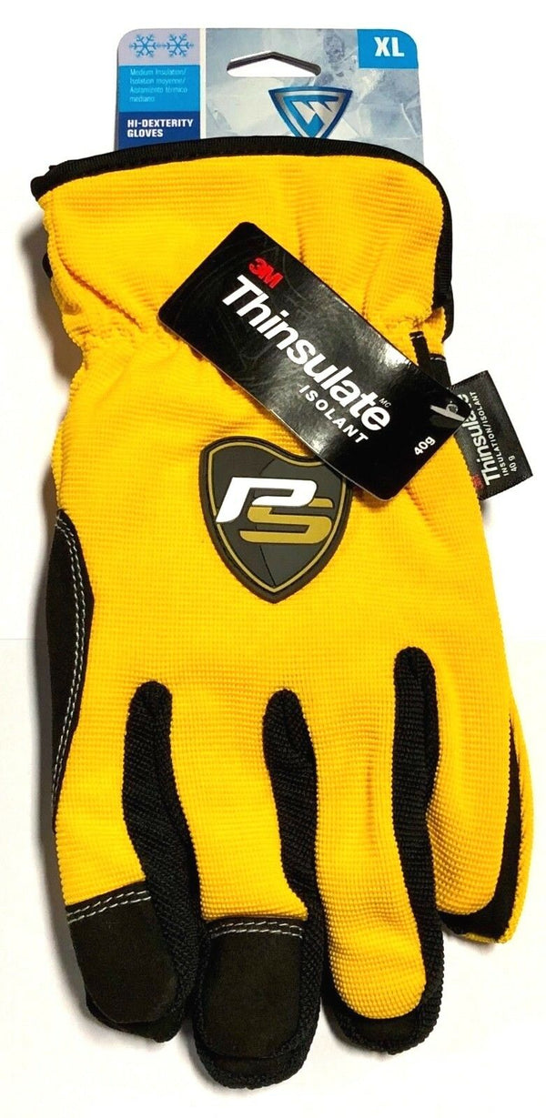 West Chester Winter Gloves Slip On High Dexterity 40 Gram Thinsulate Size XL