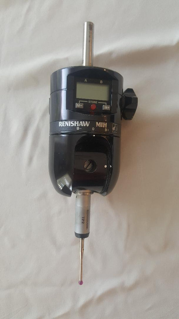 Renishaw MIH Manual Indexable CMM Touch Probe Head with TP2 probe, S/N:K16762