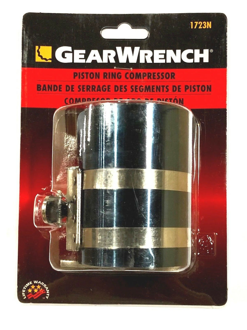 "GearWrench Piston Ring Compressor 3-1/2"" To 6-1/2"" Truck Tractor Mechanics 1723N"