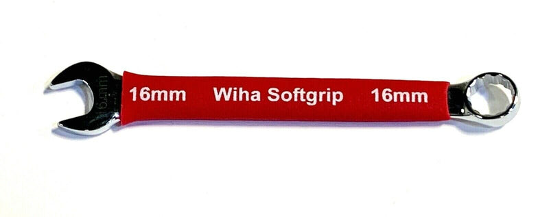 Wiha 16mm Combination Wrench Soft Grip Open Box Metric 12 Point Wrench