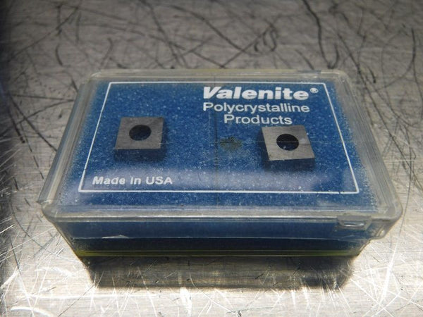 Valenite PCD Tipped Diamond Inserts QTY2 SD322P2F VC727 (LOC654)