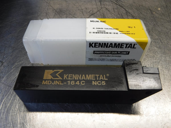"Kennametal 1"" x 1"" Indexable Lathe Tool Holder MDJNL-164C (LOC1023C)"