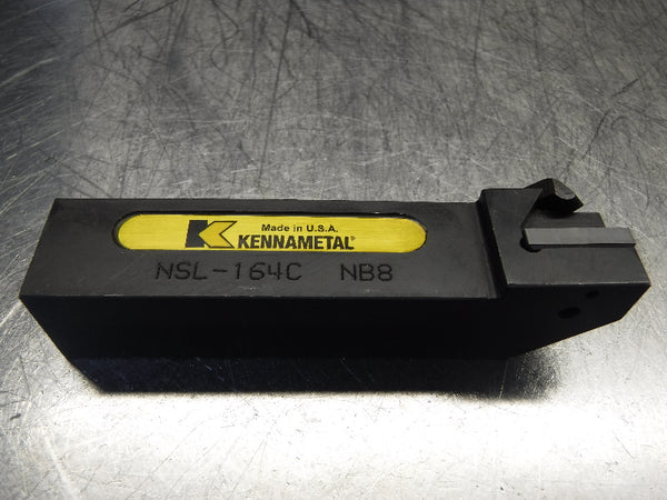 "Kennametal 1"" x 1"" Indexable Grooving Lathe Tool Holder NSL-164C (LOC1001A)"