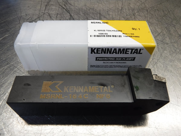 "Kennametal 1"" Indexable Lathe Tool Holder MSRNL164C (LOC1047A)"