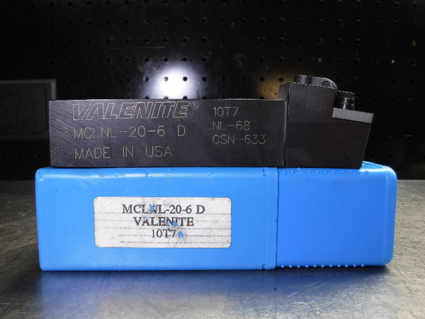 "Valenite 1.25"" Indexable Lathe Tool Holder MCLNL-20-6 D (LOC539)"