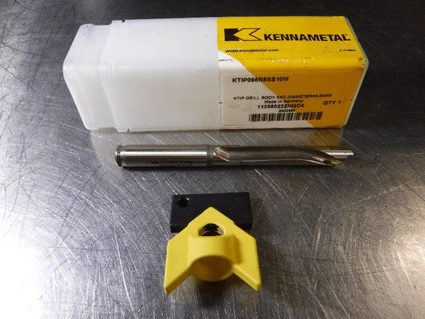 Kennametal 9.5mm-9.99mm KenTip Drill 10mm Shank KTIP095R5SS10M (LOC1325A)