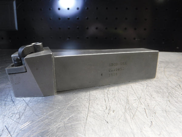 "Seco 1"" x 1.25"" Indexable Lathe Tool Holder C115851 (LOC2467)"