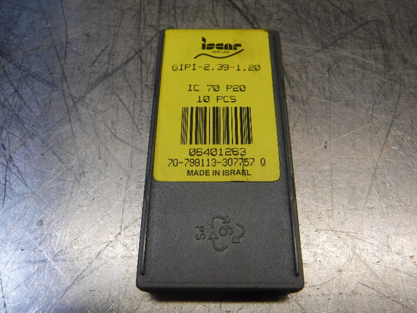 Iscar Carbide Inserts GIPI-2.39-1.20 IC 70 P20 (LOC1318D)