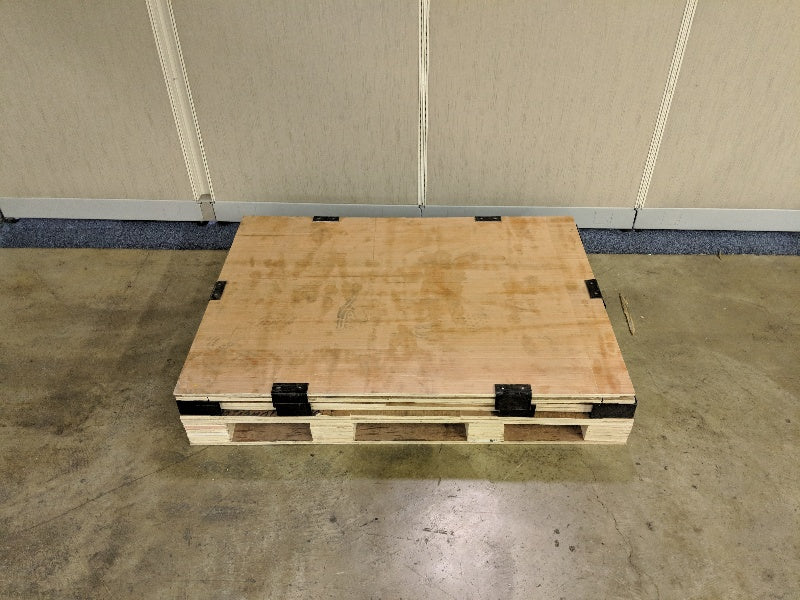 Collapsible, Stackable, Wood Crates 2000lb Weight Capacity S-18249