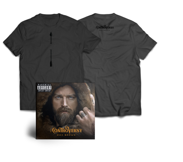 PRE-ORDER The Controversy CD (+ Tee + Digital Download)