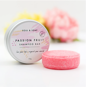 Passion Fruit Solid Shampoo Bar