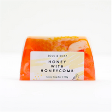 Load image into Gallery viewer, Honey with Honeycomb Soap