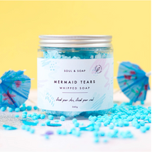 Load image into Gallery viewer, Mermaid Tears Whipped Soap