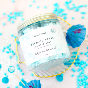 Mermaid Tears Whipped Soap