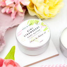 Load image into Gallery viewer, Kiwi & Strawberry Body Butter