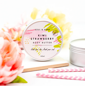 Kiwi & Strawberry Body Butter