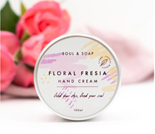 Load image into Gallery viewer, Floral Freesia Moisturising Hand Cream