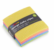 Load image into Gallery viewer, 12 Rainbow Sponge Cloths Wipes