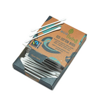Load image into Gallery viewer, Organic Fairtrade Cotton Buds (FSC Mix 70%)