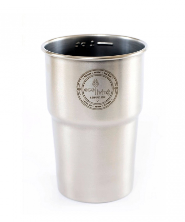 British Stainless Steel Cup - UK Pint