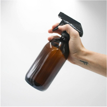 Load image into Gallery viewer, Glass Spray Bottle - Amber (500ml)