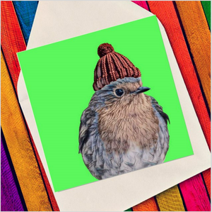 Character robin - Eco Friendly Card