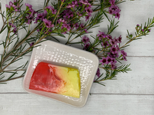 Load image into Gallery viewer, Handmade Square Soap Dish -  White Textured - Made in the UK
